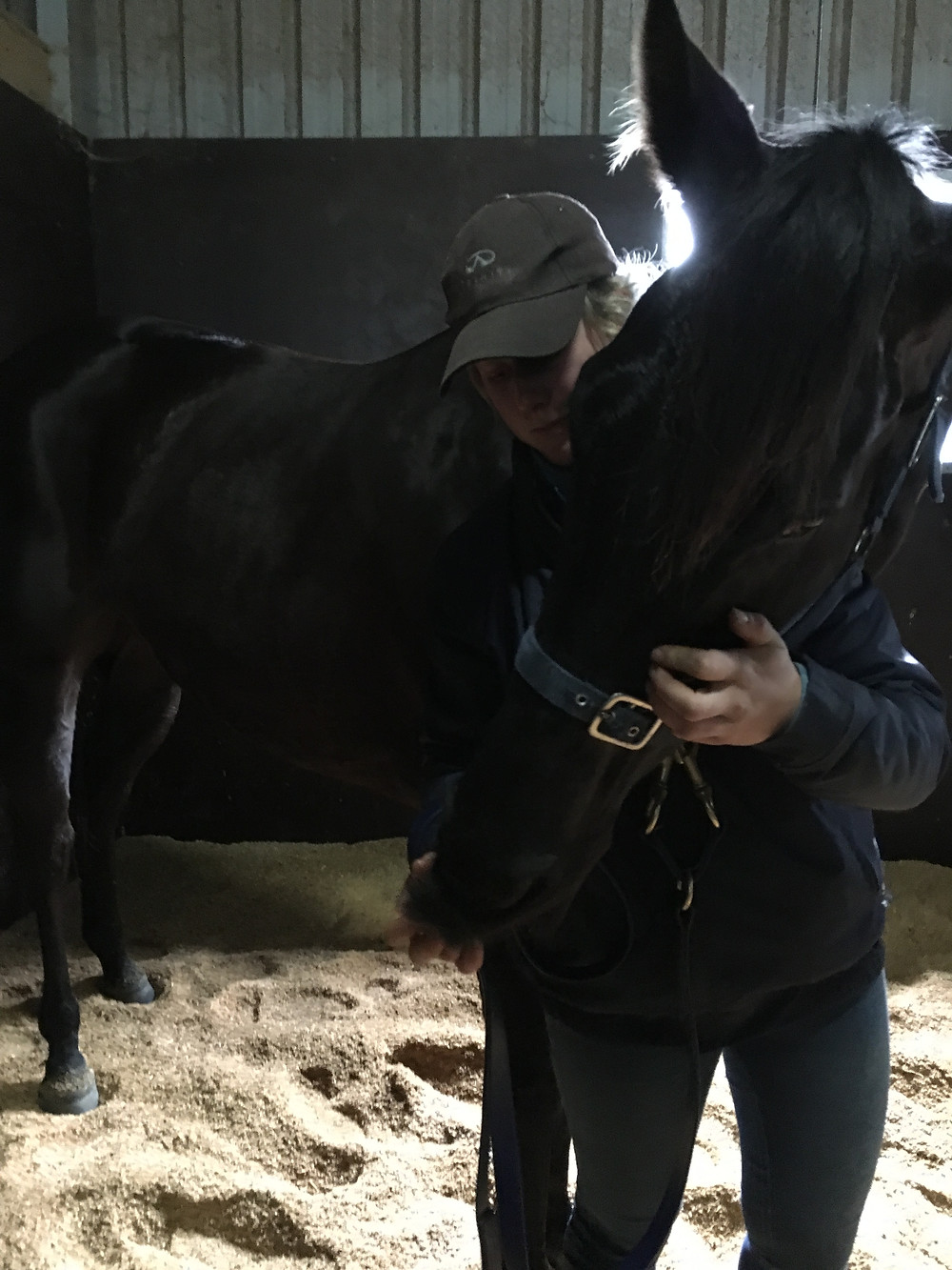 Neck stretch after a Bowen therapy treatment