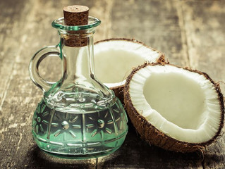 Coconut oil for horses, you won't send your horse coco-NUTS!