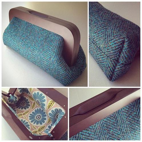 Wooden Frame Clutch Bag Pdf Pattern