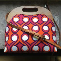The Wooden Frame Shoulder Bag
