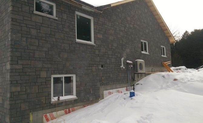 Pointing in the cold #masonry#stonework