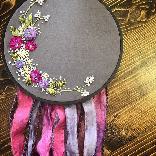 Floral Hand Embroidery: Beginner