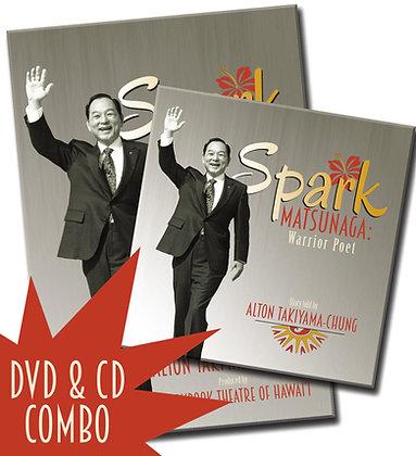 Spark Matsunaga - DVD & CD Combo Pack