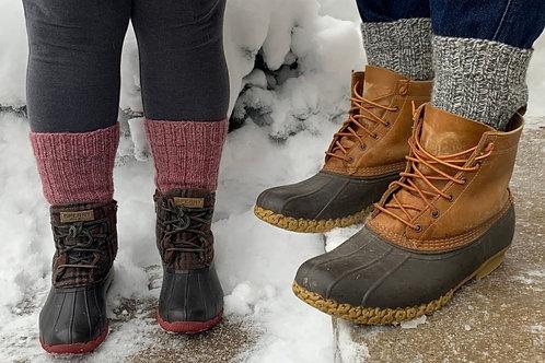 Boot Socks - Heel