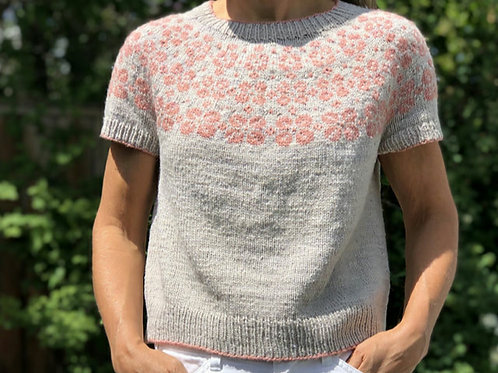 KAL: Early Bloomer Summer Sweater