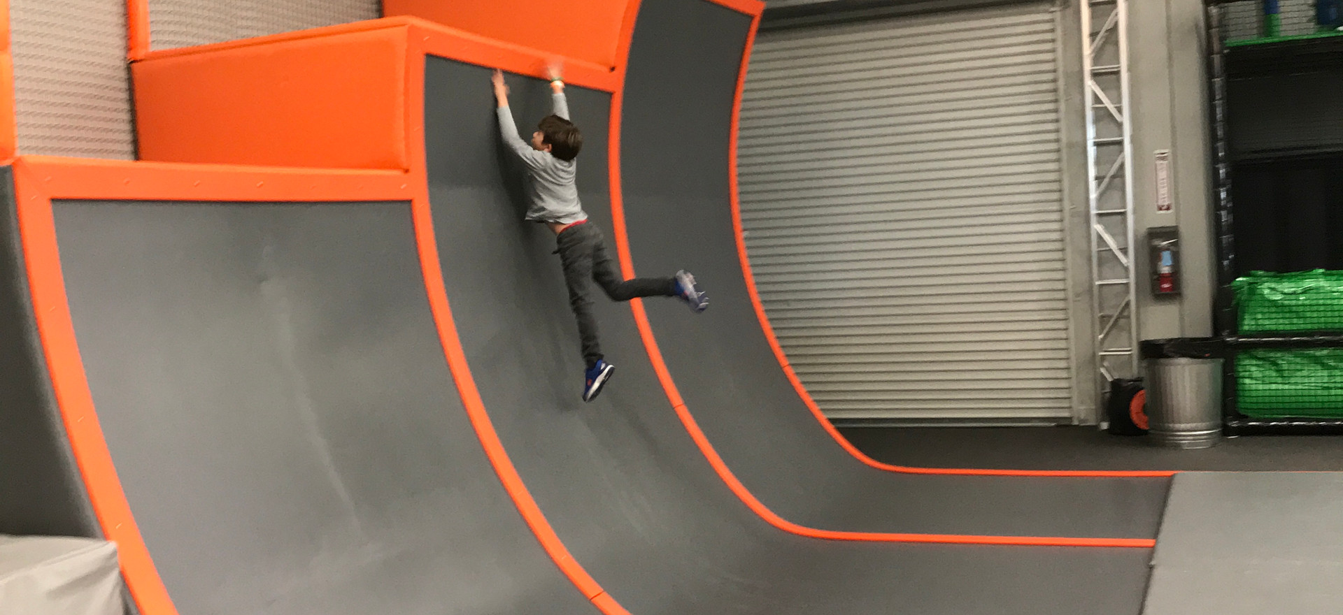 Warped Wall Indoors (Closed)