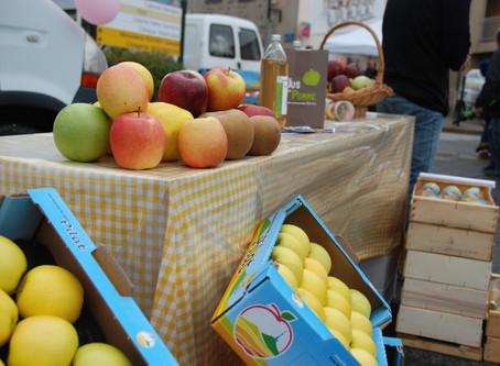 Des pommes jusqu'en Mai, des jus tout l'été!