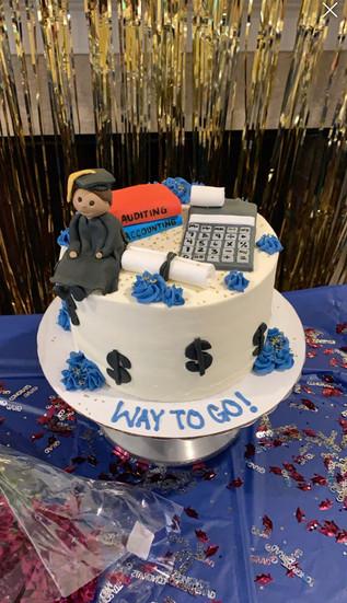 Academic Graduation Cake