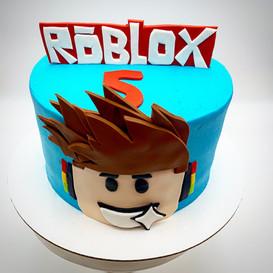 Custom Roblox Childrens Cake
