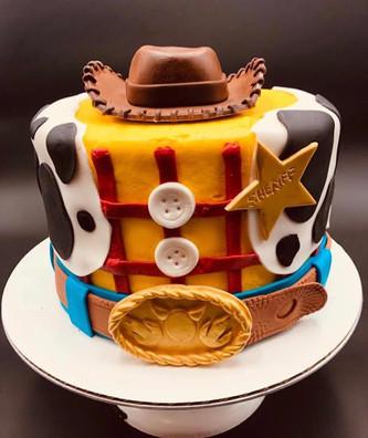 Toy Story Woody Custom Cake