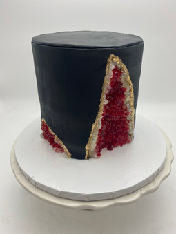 Custom Geode Cake