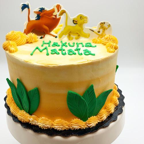 Custom Childrens Lion King Cake