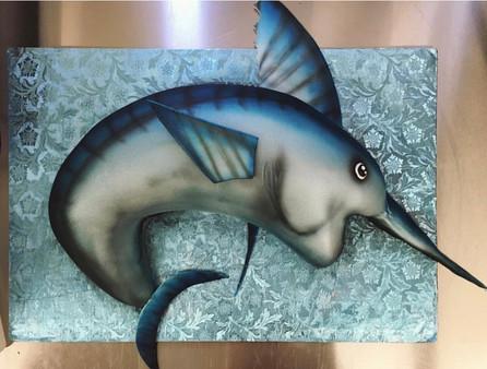 Custom Sword Fish Cake