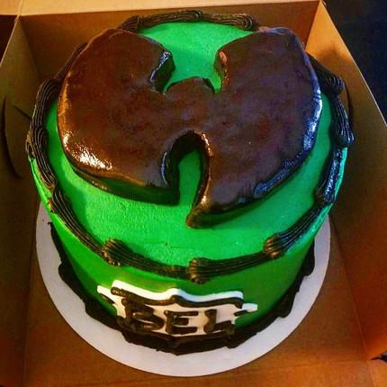 Custom Wu Tang Cake