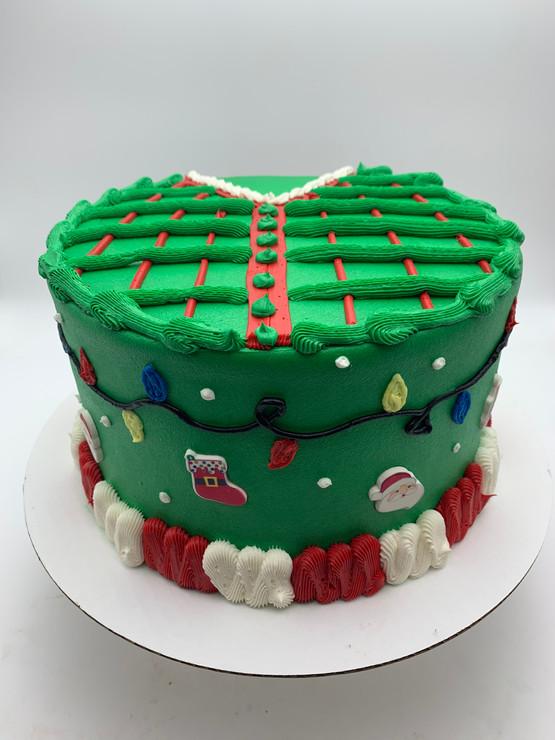 Christmas Sweater Cake