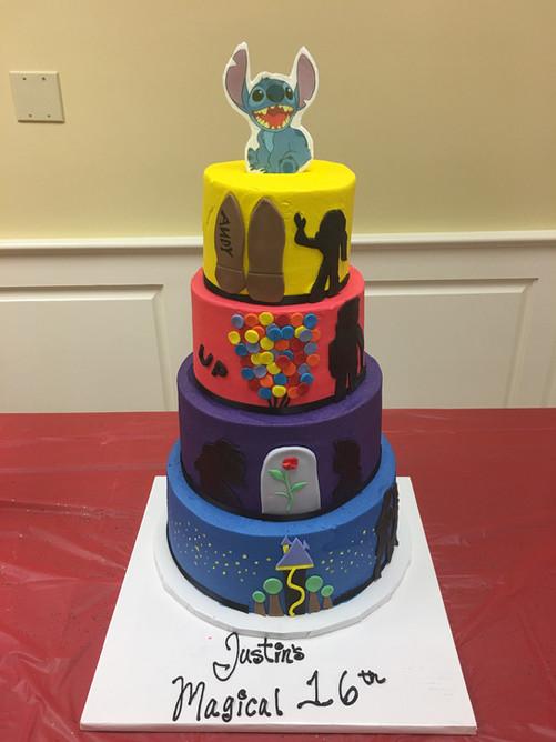 Lilo & Stitch Custom Childrens Cake