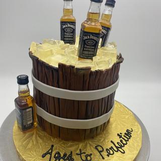 Liquor Inspired Cakes
