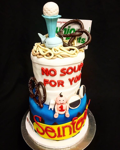 Seinfeld Custom Cake