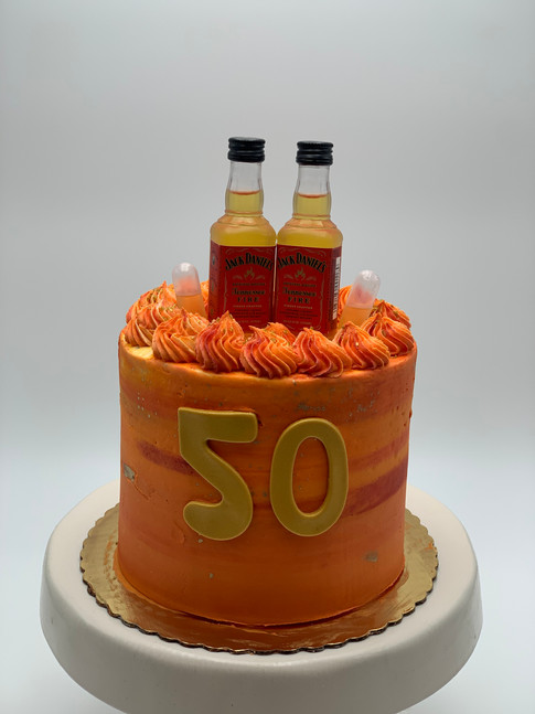 Jack Daniels Custom Cake