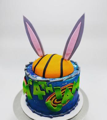 Space Jam Custom Cake