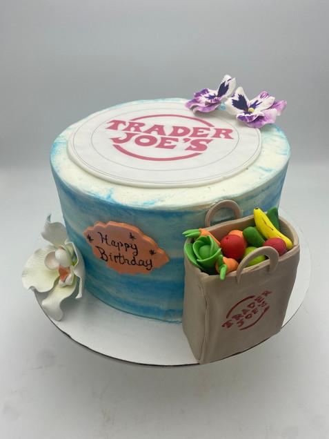 Custom Trader Joe's Cake