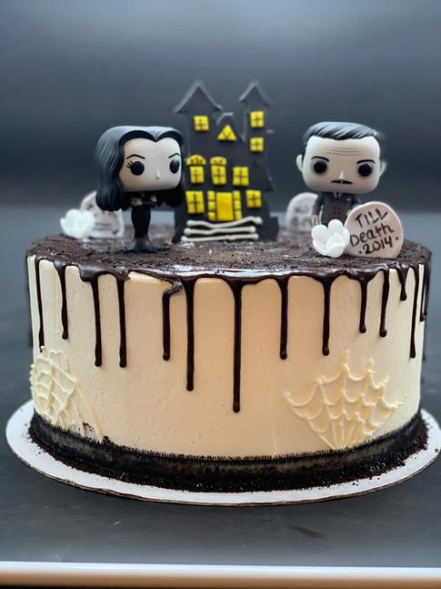 Custom Adam's Family Drip Cake