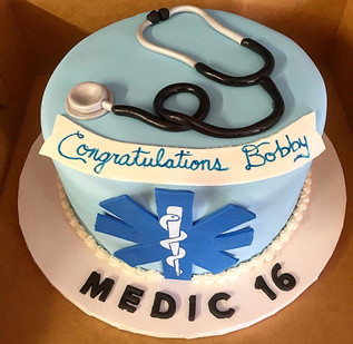 Medic 16 Custom Cake
