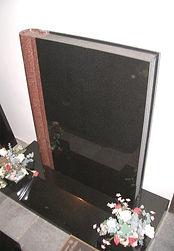 closed-book-headstone