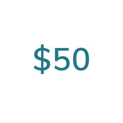 $50 Gift Voucher