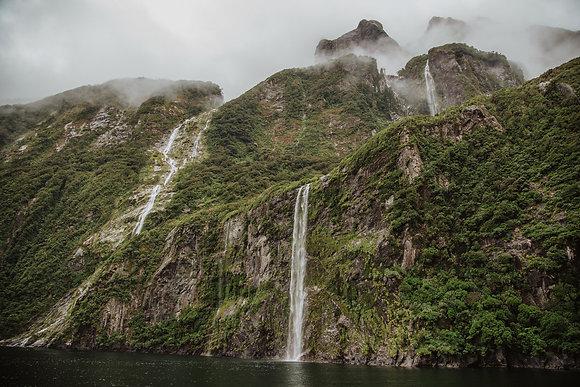 Milford Waterfalls