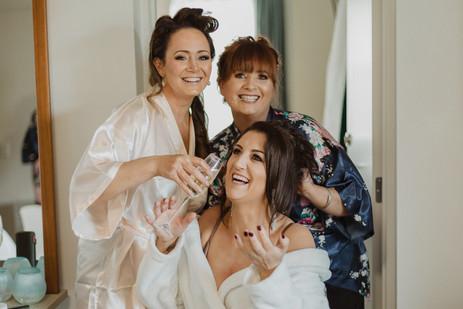 Te Anau helicopter and drag car wedding