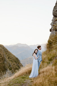 Queenstown skippers canyon engagement photos
