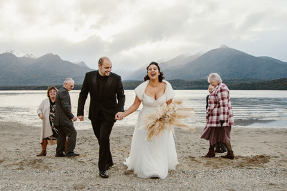 Te Anau winter helicopter elopement in Fiordland