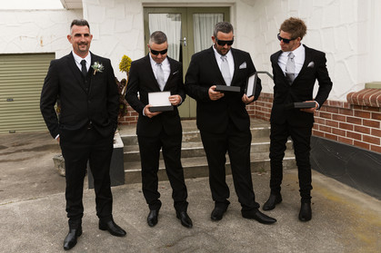 Wedding at the Lignite Pit in Invercargill