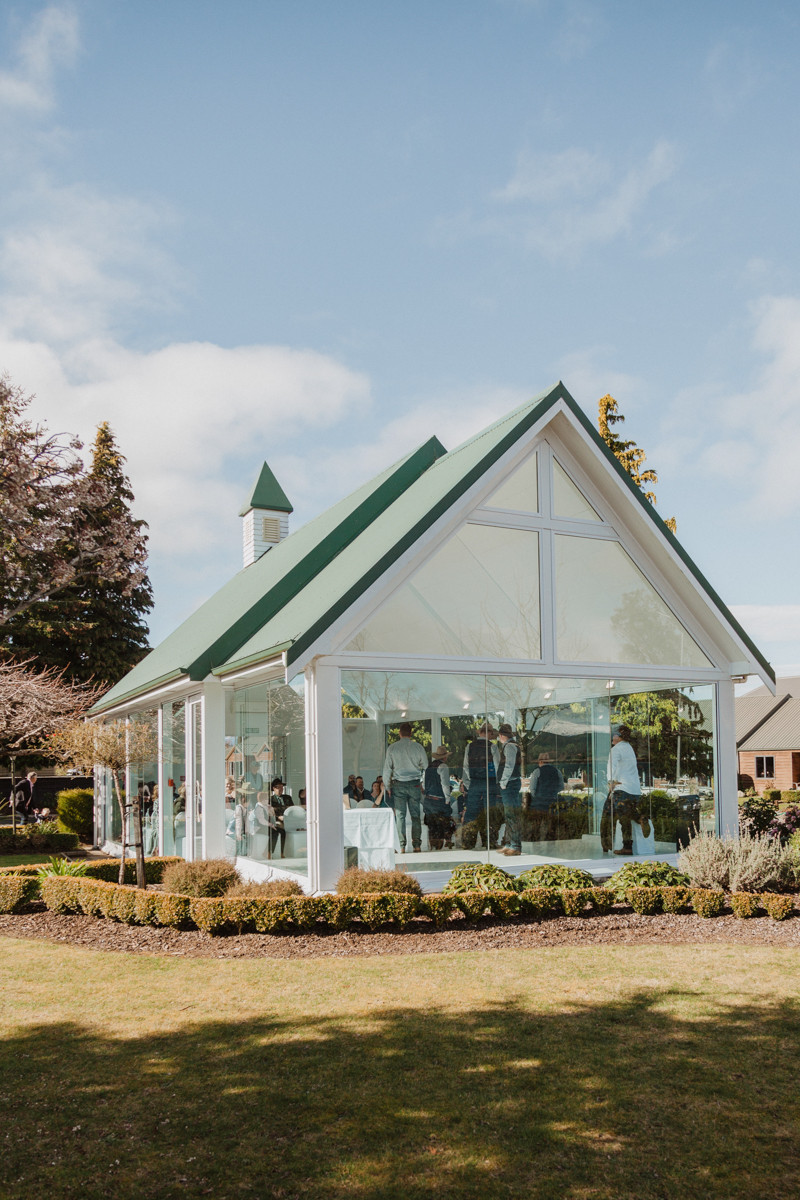 Te Anau Glass Chapel Wedding