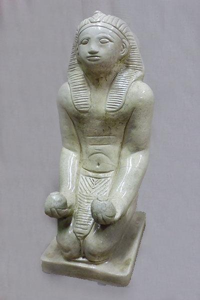 Rameses Kneeling