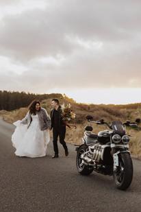 Motorbike Wedding in Invercargill