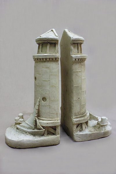 Lighthouse Bookends (Pair)