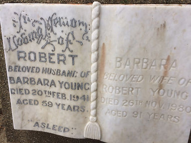 Old Book Headstone