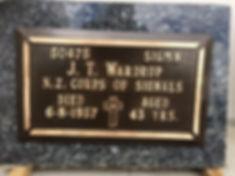 Newly Restored Headstone