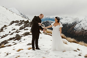 Fiordland Winter Helicopter Elopement