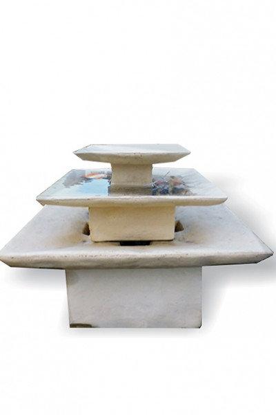 Square 3 Tier Fountain
