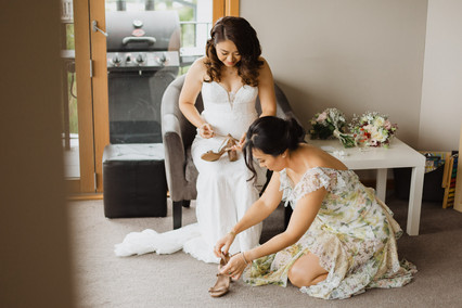 Wedding at the Winehouse in Queenstown