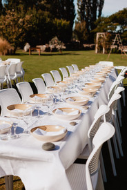 The Packing Shed Wedding outdoor reception