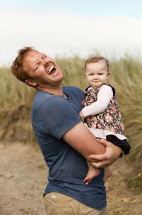 Oreti Beach family photos in Invercargill