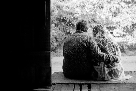 Invercargill engagement photo shoot on the farm