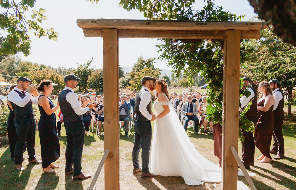 The Packing Shed Wedding Ceremony
