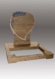 Special Heart Headstone