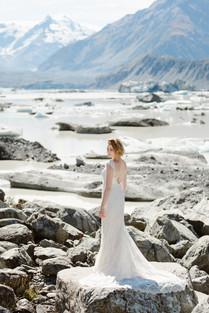 Mount Cook summer elopement