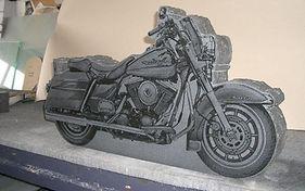 Invercargill Motorbike Headstone